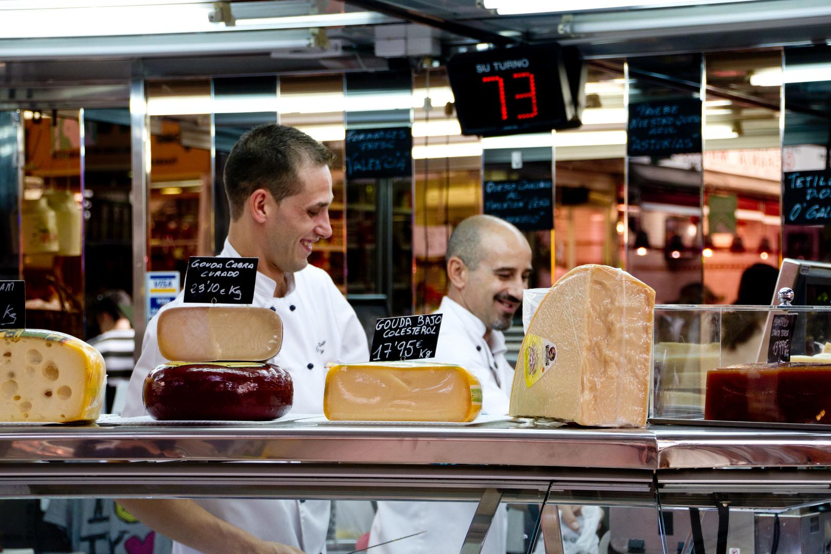 Das Lächeln der Käsehändler