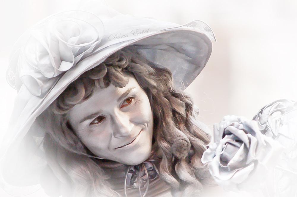Das Lächeln der kleinen Lady...