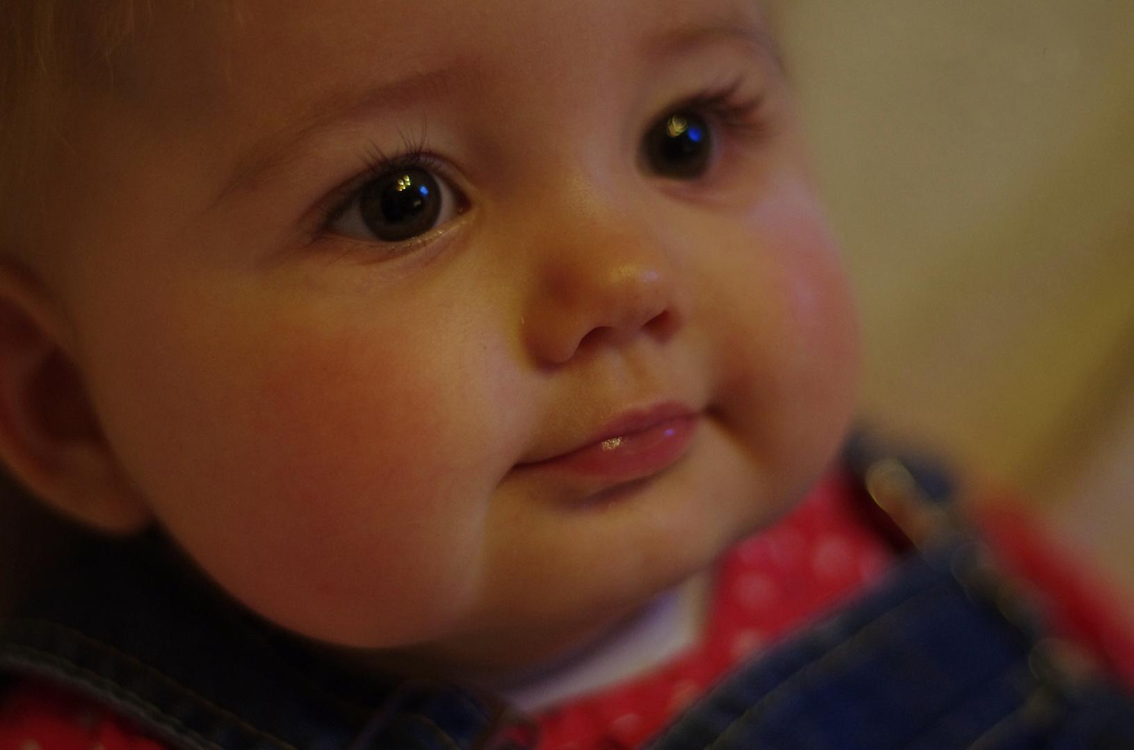 Das Lächeln eines Kindes, erfreut meine ganze Seele