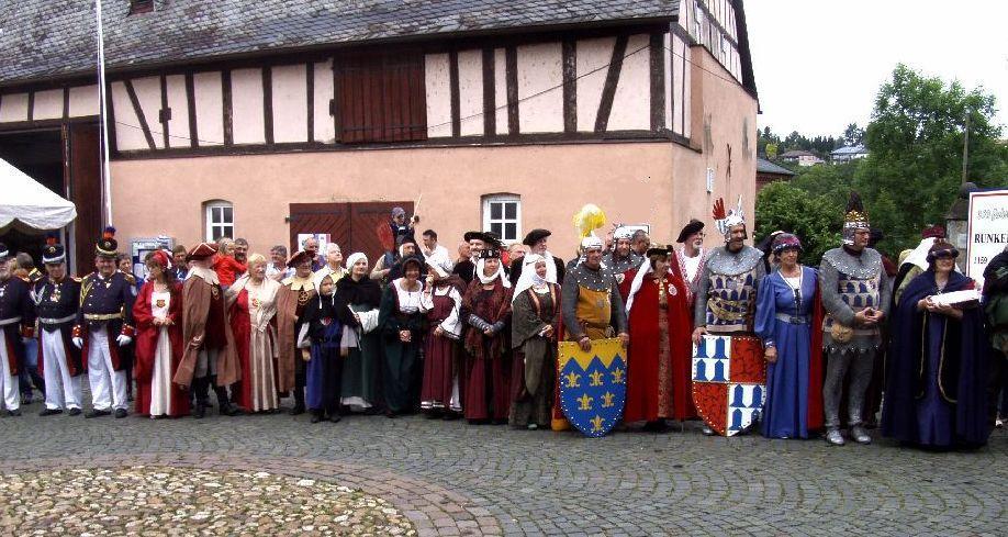 Das Leben in der Burg Runkel (1)