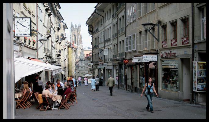 Das Leben in Fribourg