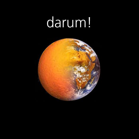 das leben ist eine orange