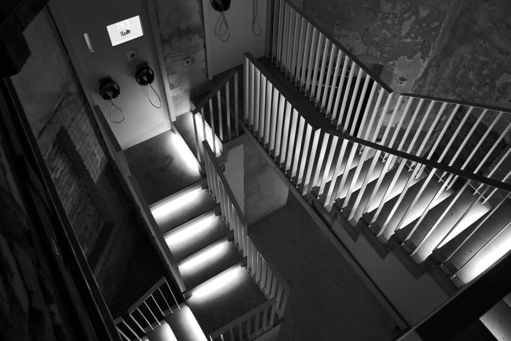 Das Leben ist eine Treppe, wir wissen nie ob es aufwärts oder abswärts geht.