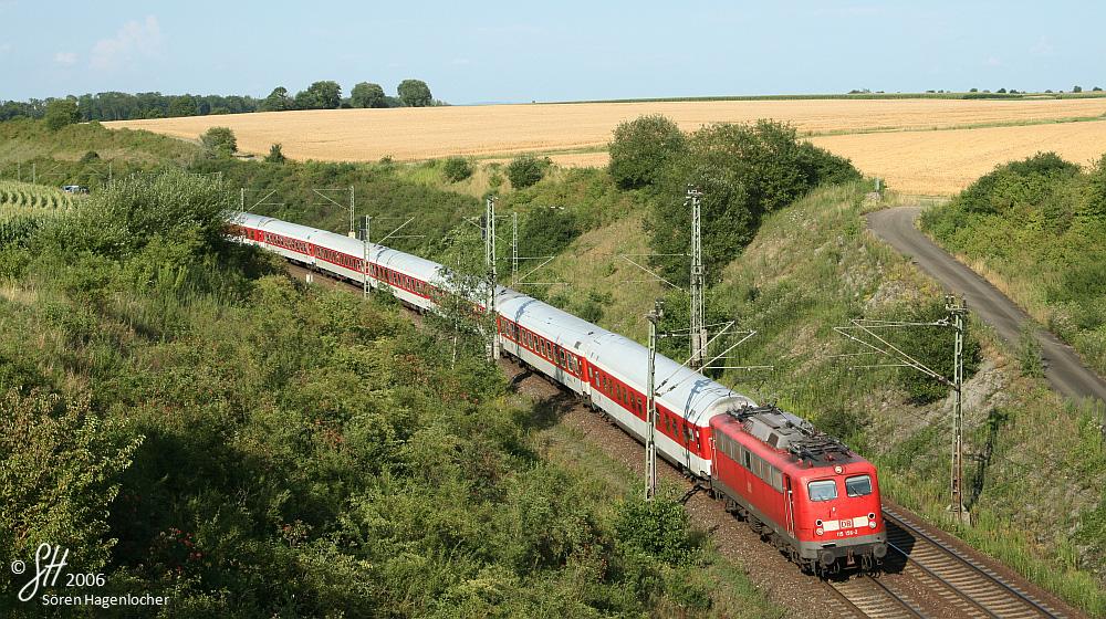 Das letzte Aufleben der Baureihe 110