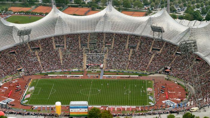 Das letzte Bayern Spiel im Olympiastadion - weniger Zoom