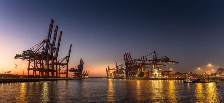 Das letzte Containerschiff 2016...