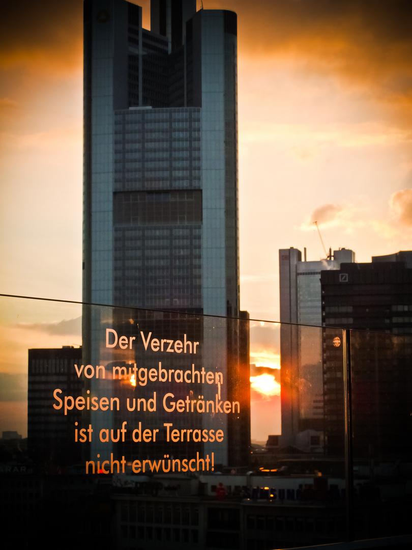 Das letzte Gericht über Frankfurt...