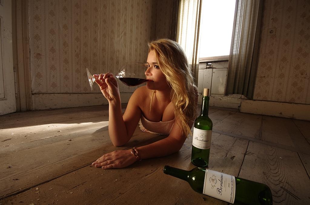 Das letzte Glas Wein