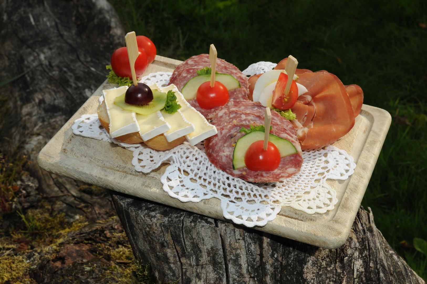 """Das """"letzte"""" Picknick im Herbst, bevor der Winter kommt .."""
