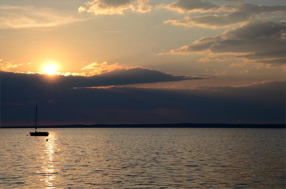 das letzte Sonnenlicht...