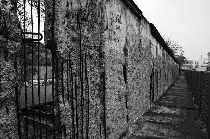 Das letzte Stück der Mauer...