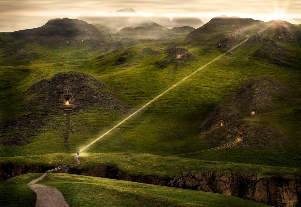 «Das Leuchten der Nebelberge»