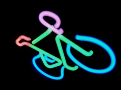 Das Leuchtende Fahrrad