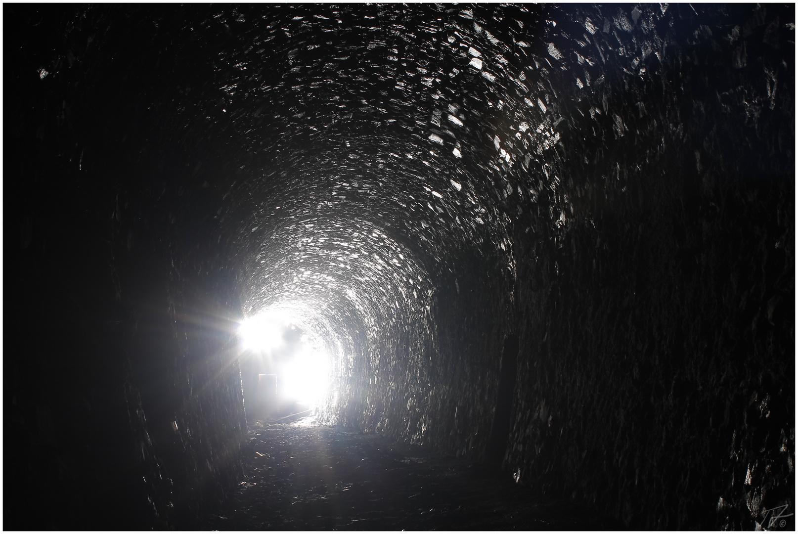 Das Licht am Ende des Tunnels...