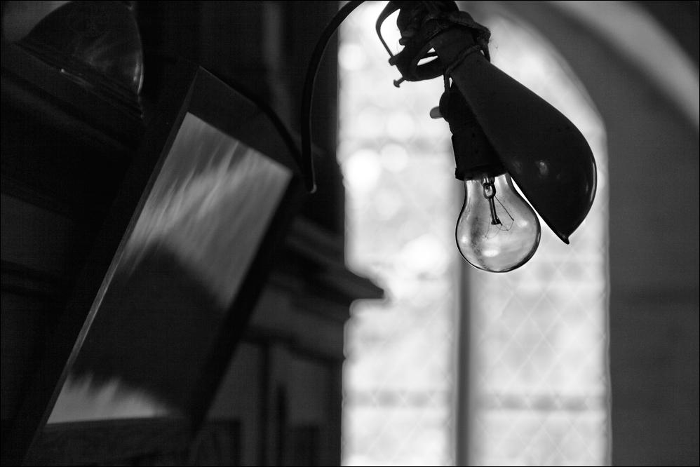 Das Licht des Organisten