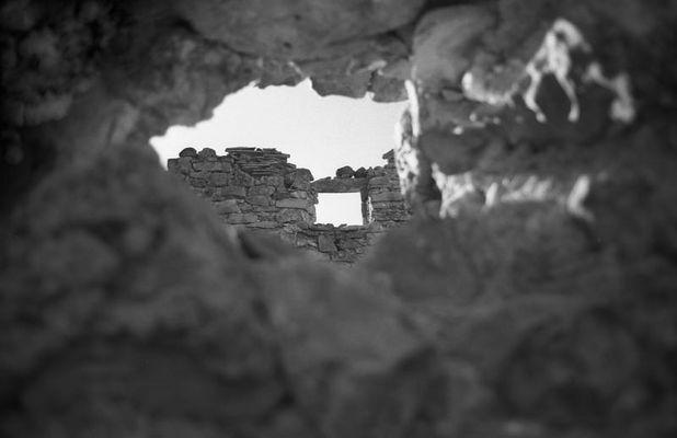 das Loch in der Wand - in der Wand