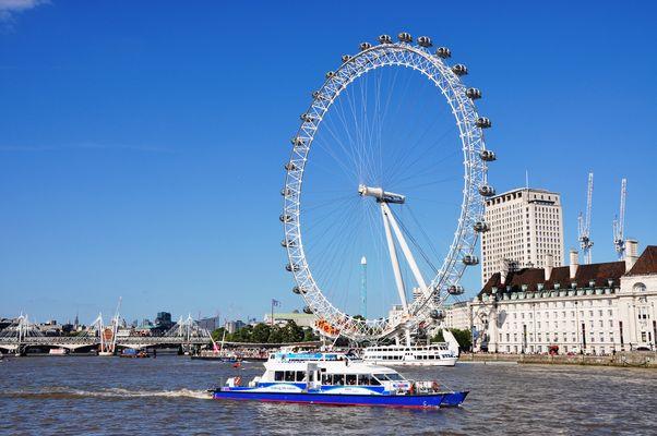 Das London Eye