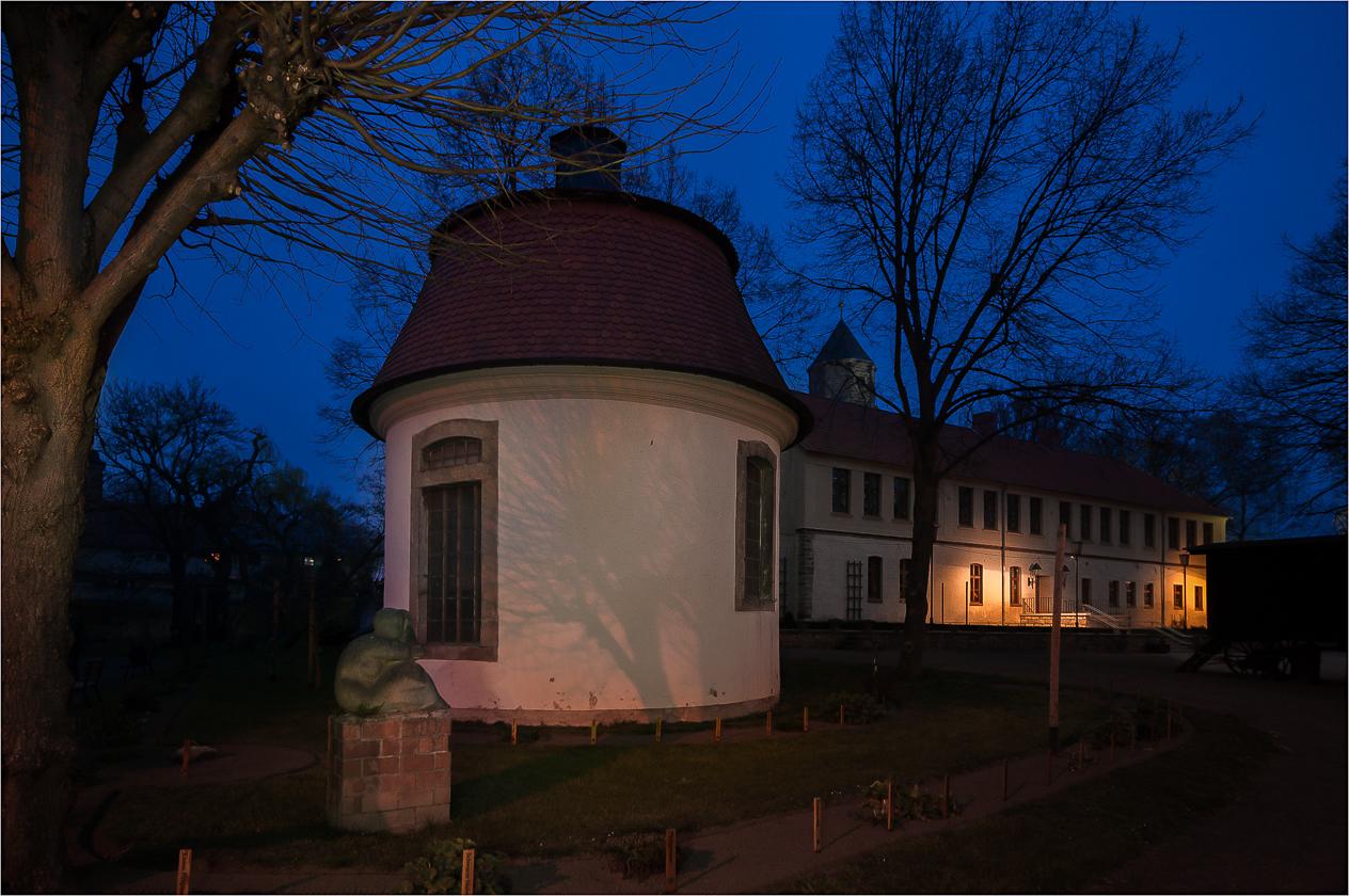 """Das """"Lusthaus"""" im Kräutergarten"""