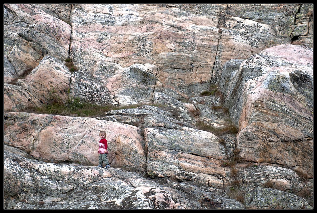 Das Mädchen in der Felswand