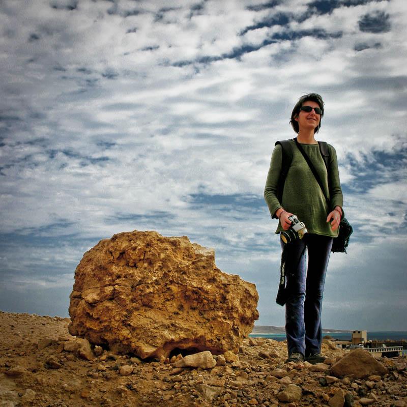 Das Mädchen in der Wüste