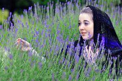 Das Mädchen Lavendel