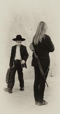 Das Mädchen mit dem Gewehr...