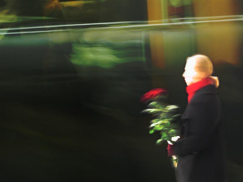 Das Mädchen mit dem roten Schal