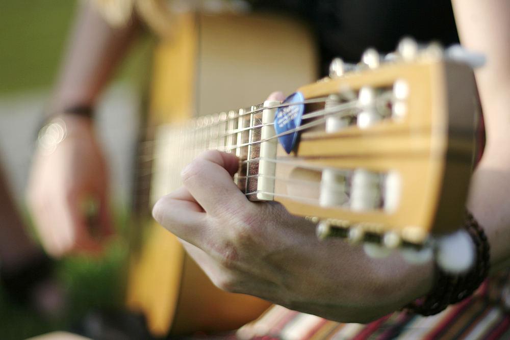 Das Mädchen mit der Gitarre