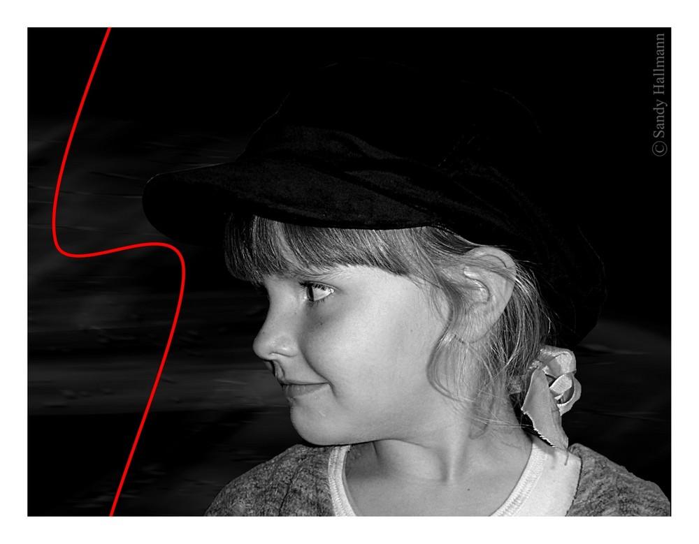 Das Mädchen mit der Mütze