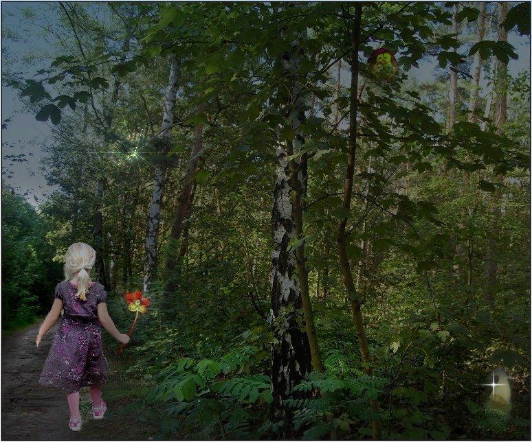 das Mädchen mit der Zauberblume