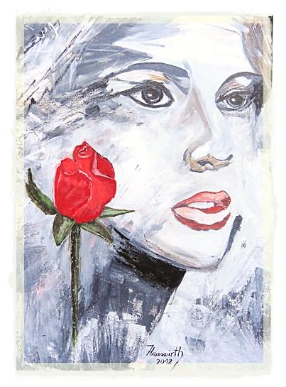 das mädchen und die rose...........