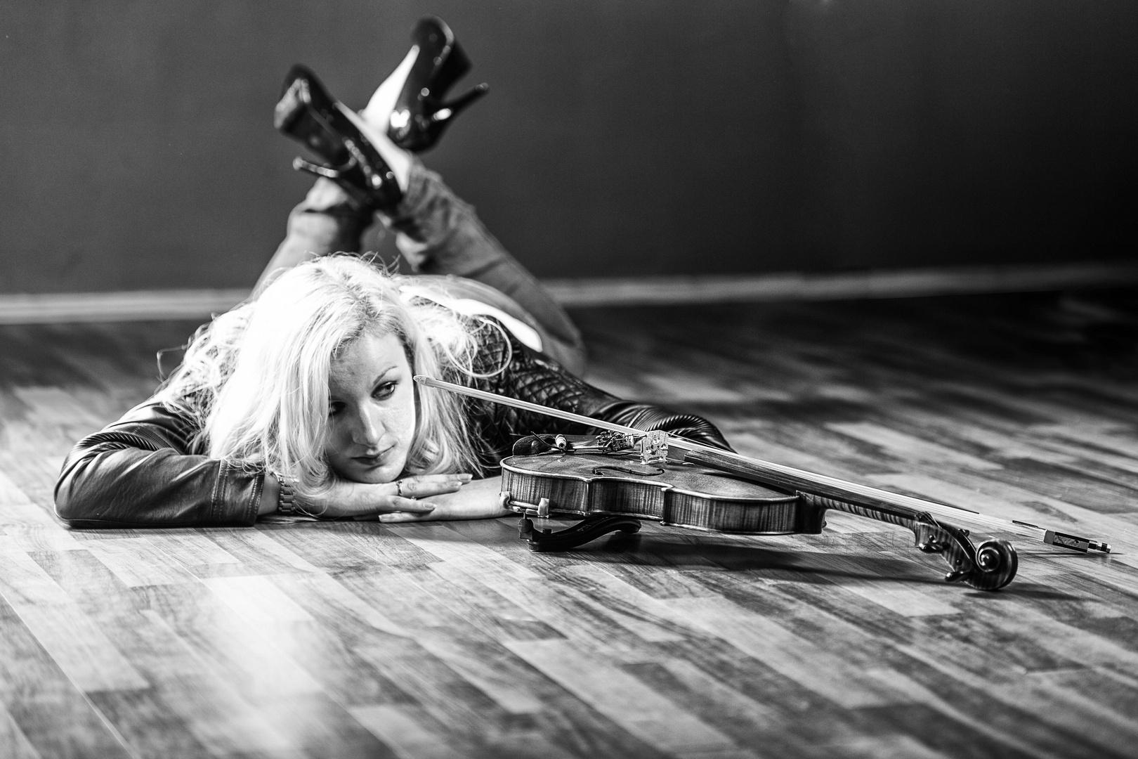 Das Mädchen und die Violine
