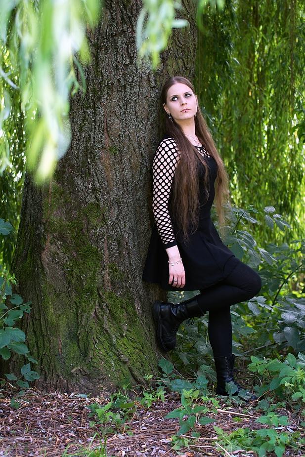 Das Mädchen unter der Weide