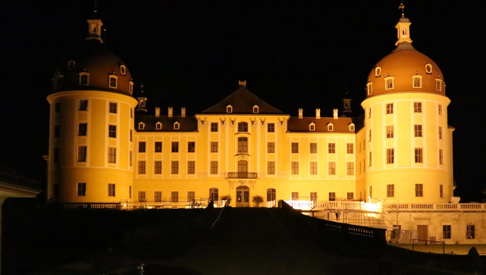 Das Märchenschloss bei Nacht
