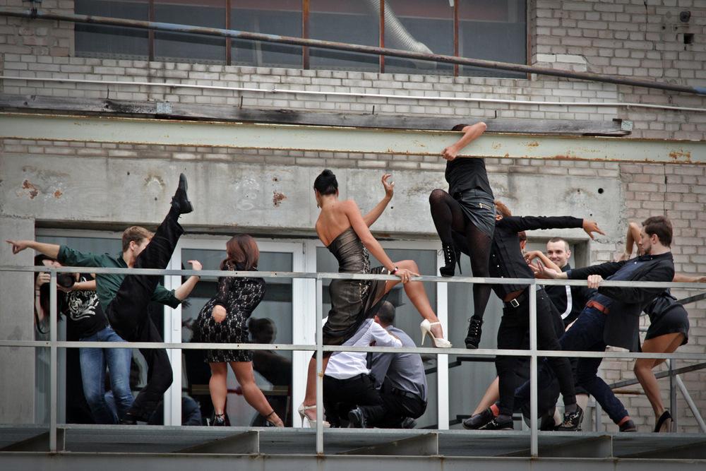 Das 'Making of'  Dancers Shooting