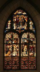 Das Marienfenster im Augsburger Dom