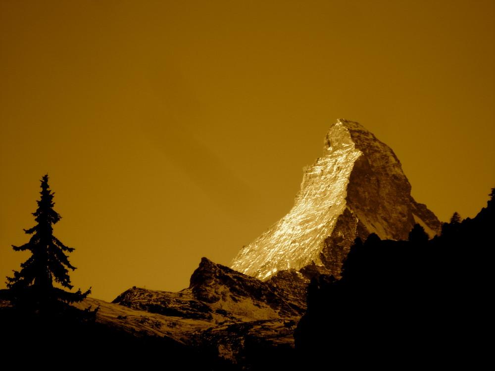 das Matterhorn im anderen Licht