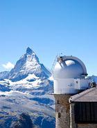 Das Matterhorn von einer Sternwarte aus