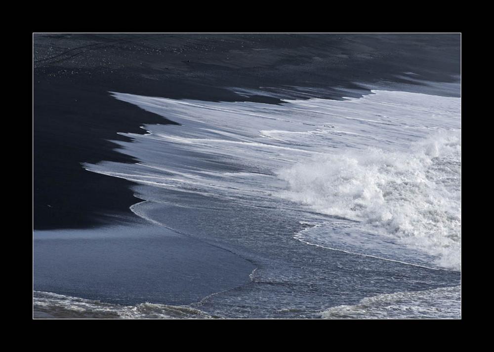 Das Meer als abstrackter Maler