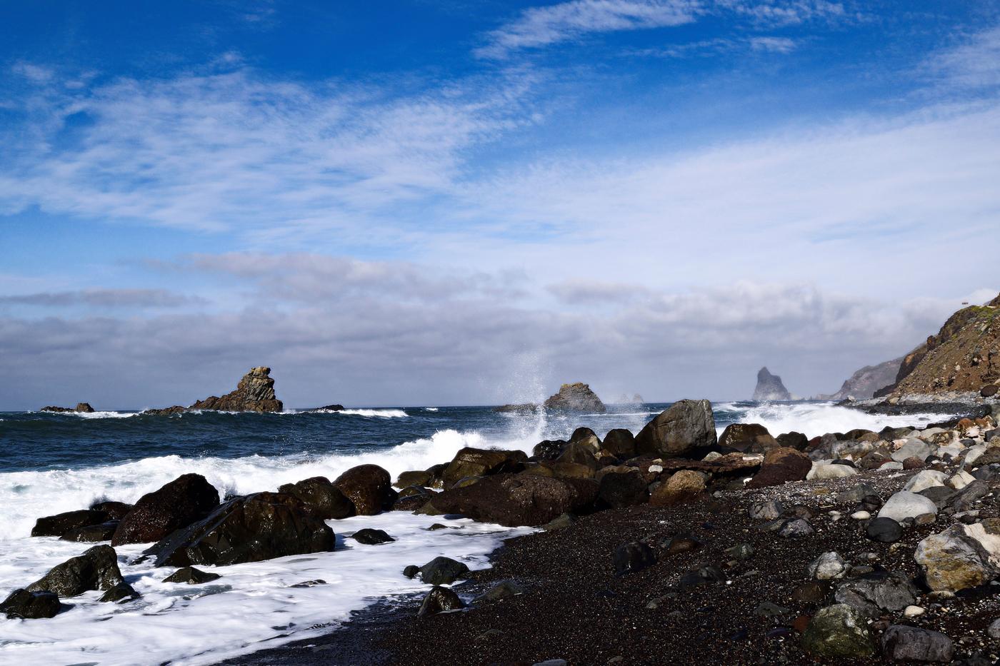 Das Meer an der Playa de Benjio No. 07