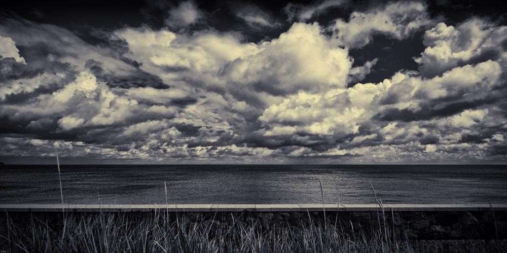 das Meer hinter der Mauer...