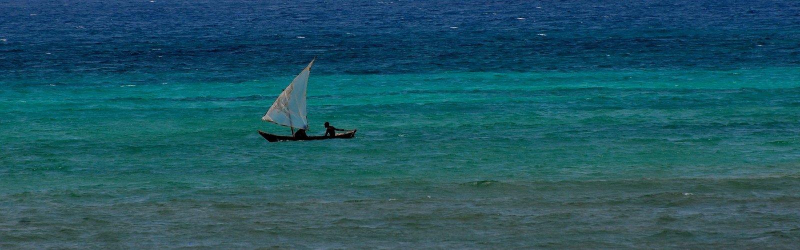 Das Meer ist so groß und unser Boot ist so klein.......