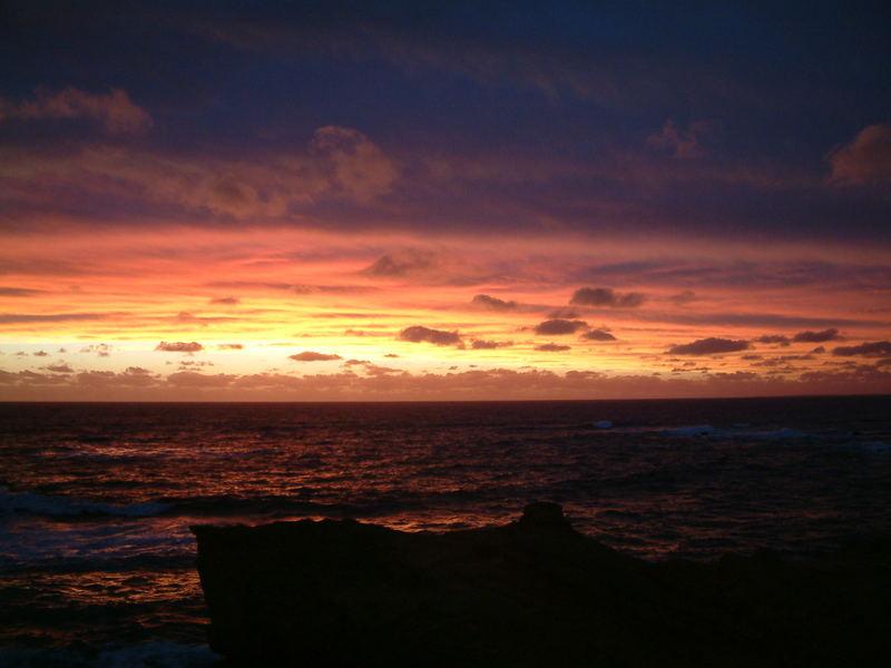 Das Meer und der Himmel
