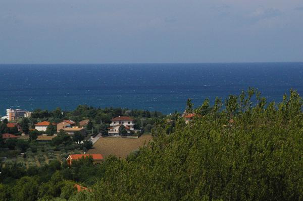 Das Meer von Senigalia