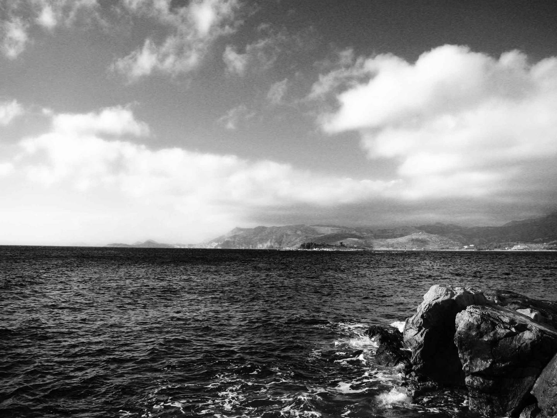 Das Meer vor Cavtat (Kroatien)