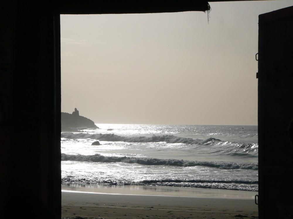 das Meer vor der Tür