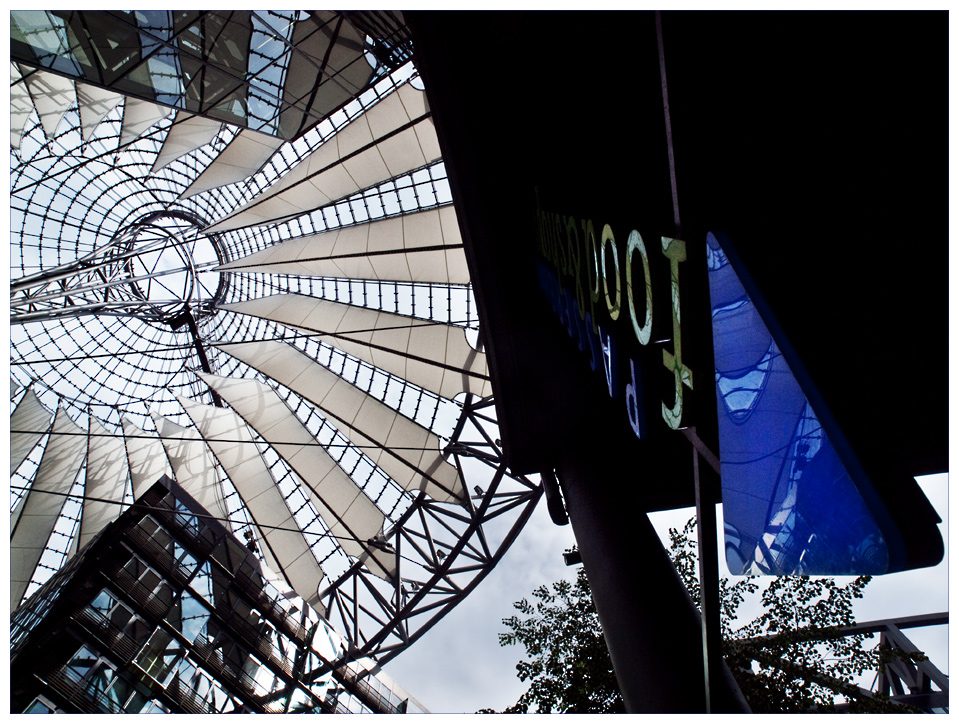 das meist fotografierte Dach Berlins
