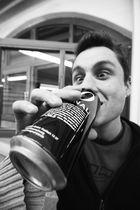 das michi und der bier