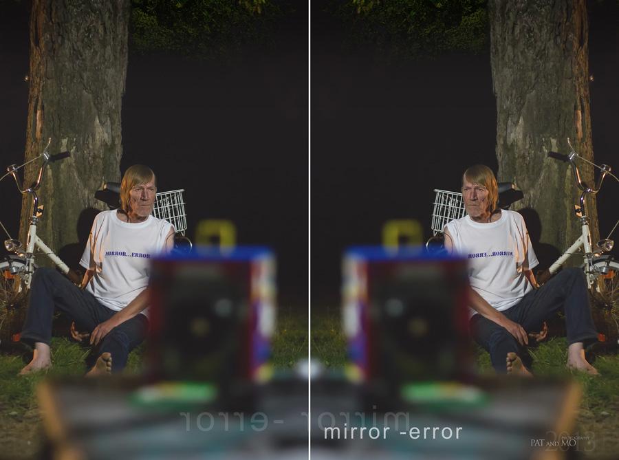 """das """" mirror - error """" Lindau Lego Projekt ( hier ..........."""