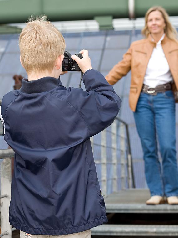 Das Model und der Fotograf